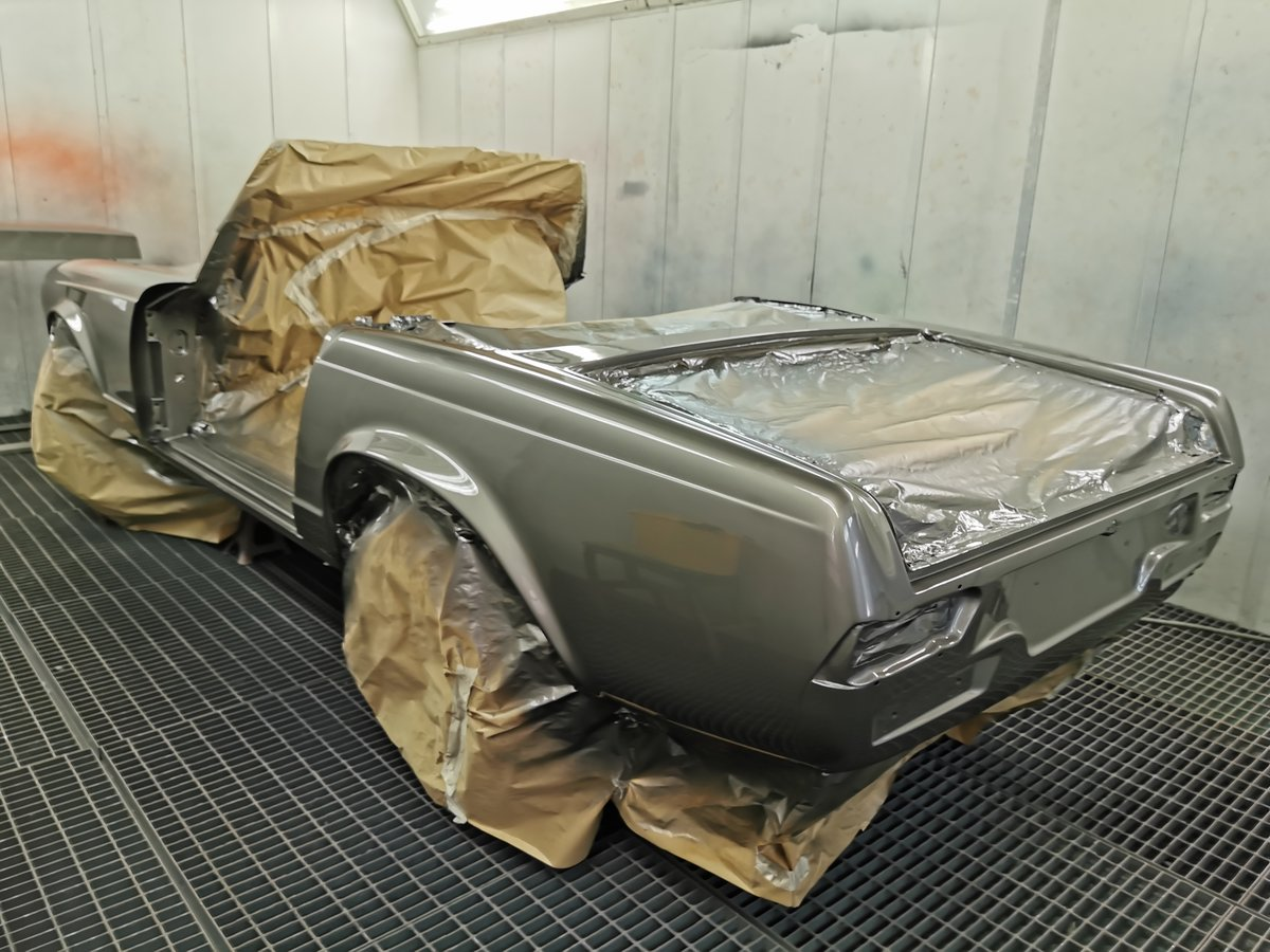1971 Fully restored 280SL Right Hand Drive W113 For Sale (picture 4 of 5)