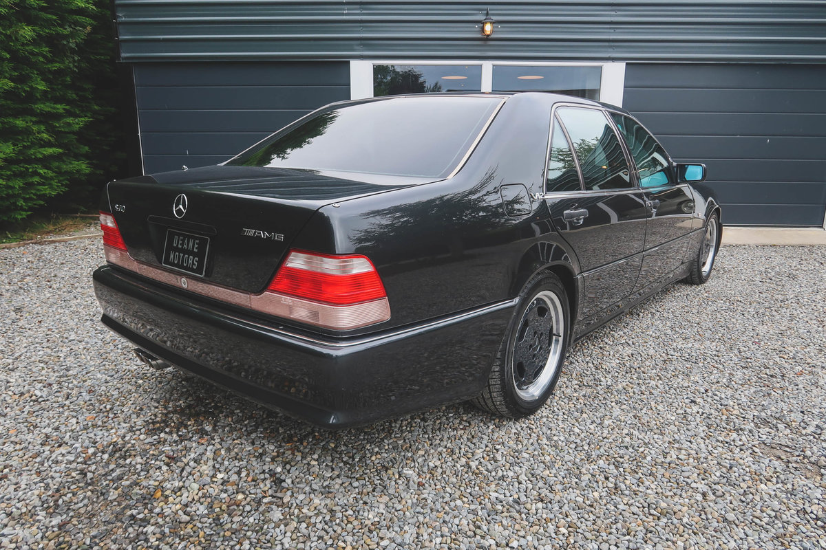 1992 Exceptional Mercedes W140 S70 AMG For Sale (picture 2 of 6)