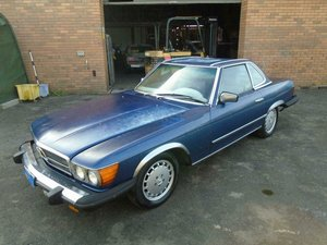 Picture of 1985 MERCEDES BENZ SL 380 LHD CONVERTIBLE SOLD