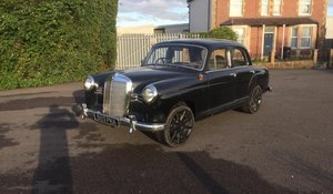1957 Mercedes-Benz 190 'Ponton' for auction 19th September For Sale by Auction