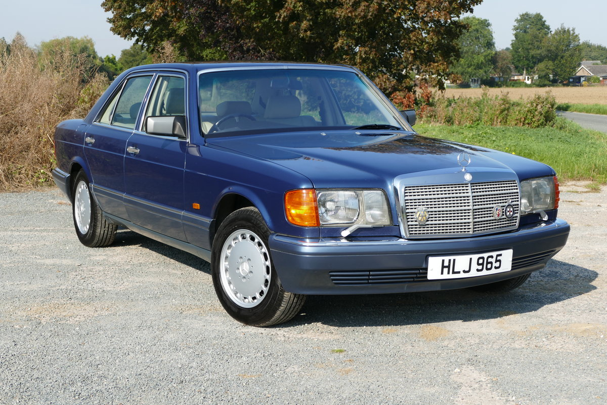 1990 Mercedes-Benz 420 SE W126 with just 85,926 miles. For Sale (picture 1 of 6)
