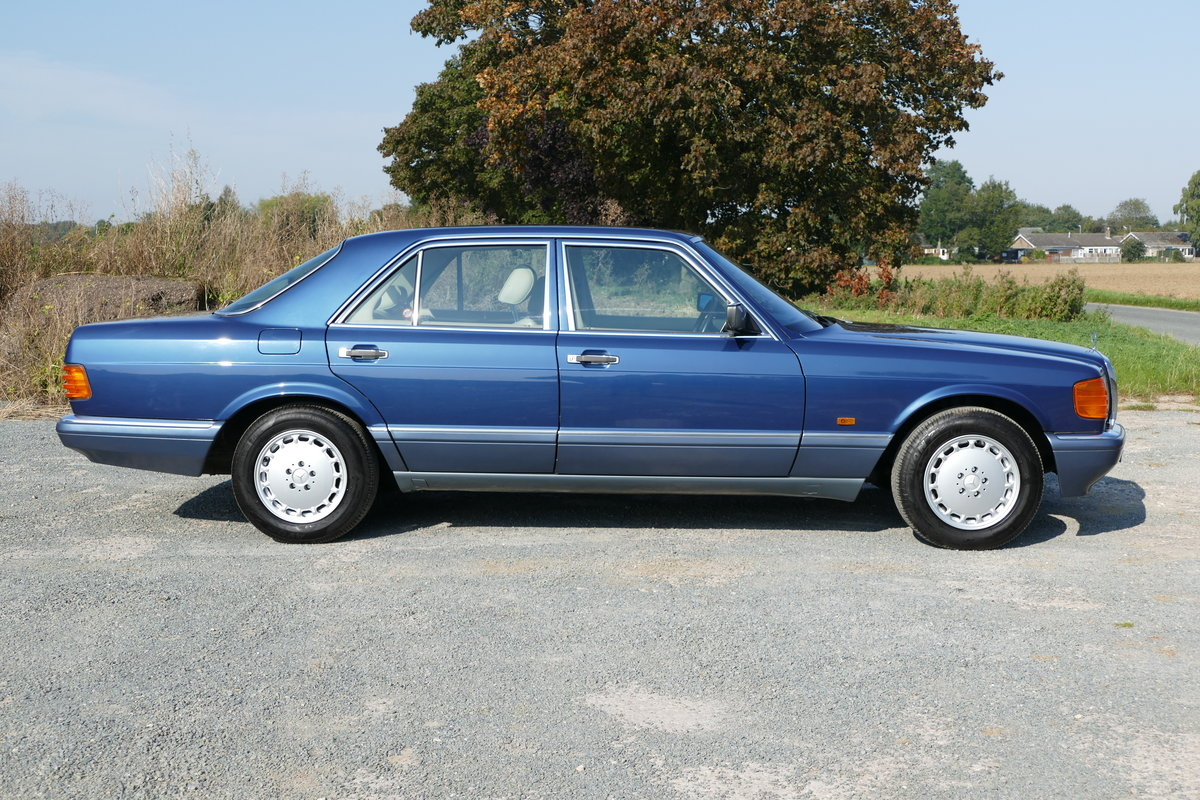 1990 Mercedes-Benz 420 SE W126 with just 85,926 miles. For Sale (picture 2 of 6)