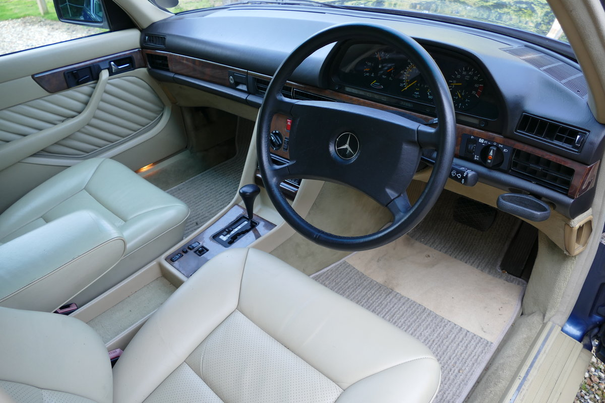 1990 Mercedes-Benz 420 SE W126 with just 85,926 miles. For Sale (picture 5 of 6)