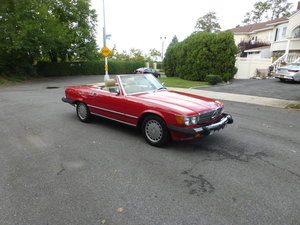 Picture of 1987 Mercedes 560SL Two Tops Nicely Presentable For Sale