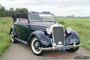 Picture of 1950 Mercedes Benz 170S Convertible B in nice restored condition For Sale