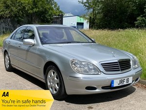Picture of 2001 Mercedes S320 V6 Petrol Automatic - 39,000 Miles From New!