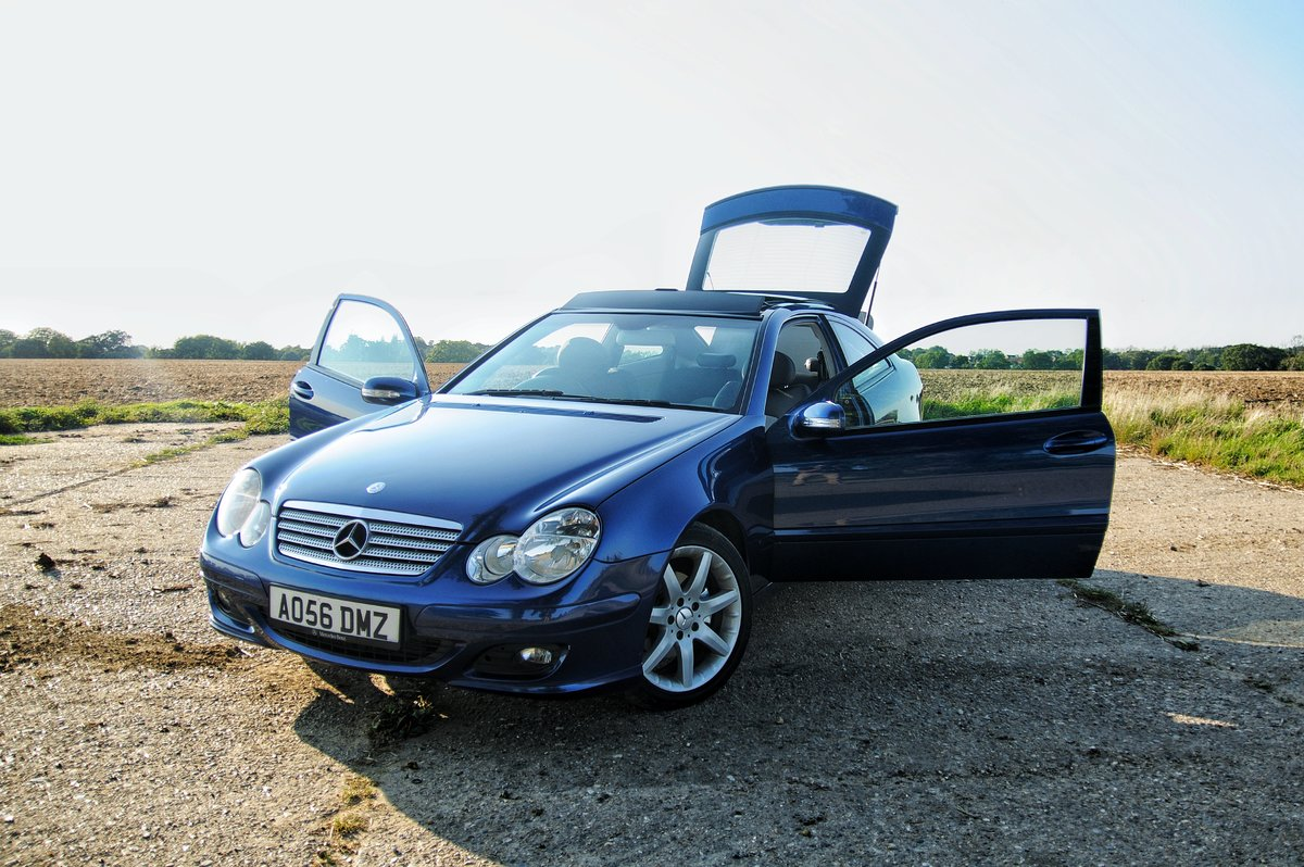 2006 Mercedes C220 CDI Panoramic Evolution For Sale (picture 1 of 6)