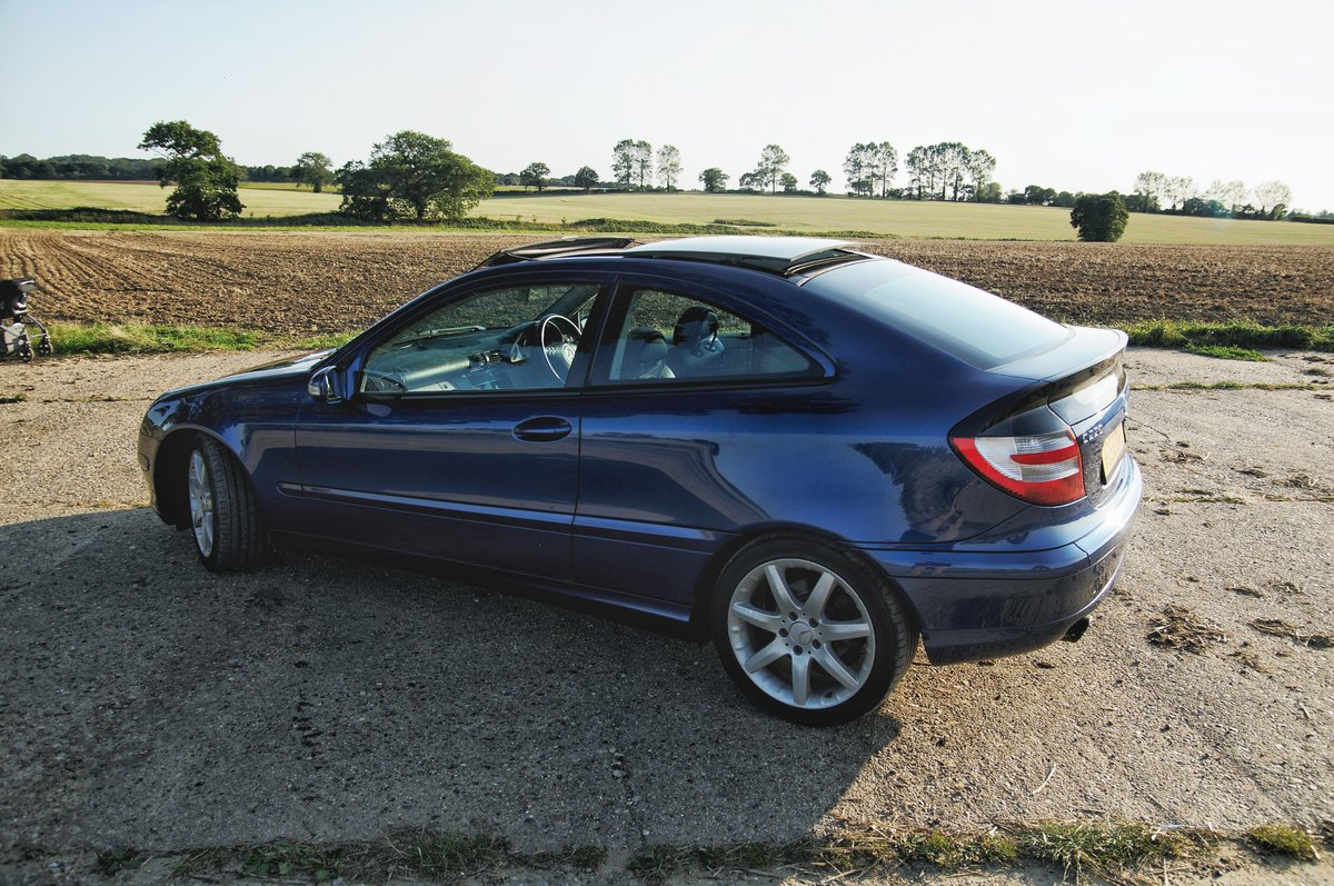2006 Mercedes C220 CDI Panoramic Evolution For Sale (picture 4 of 6)
