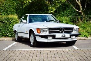 1987 MERCEDES BENZ SL SL-CLASS 420 R107 AUTO WHITE