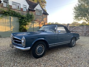 1968 Mercedes 280SL (PAGODA) from California 2 Owners