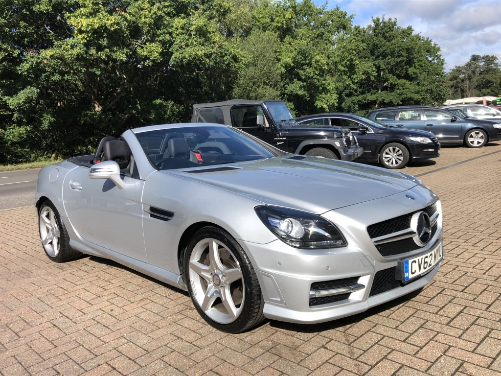 2012 (62) Mercedes Benz SLK250 CDi BlueEFFICIENCY AMG Sport For Sale (picture 1 of 6)
