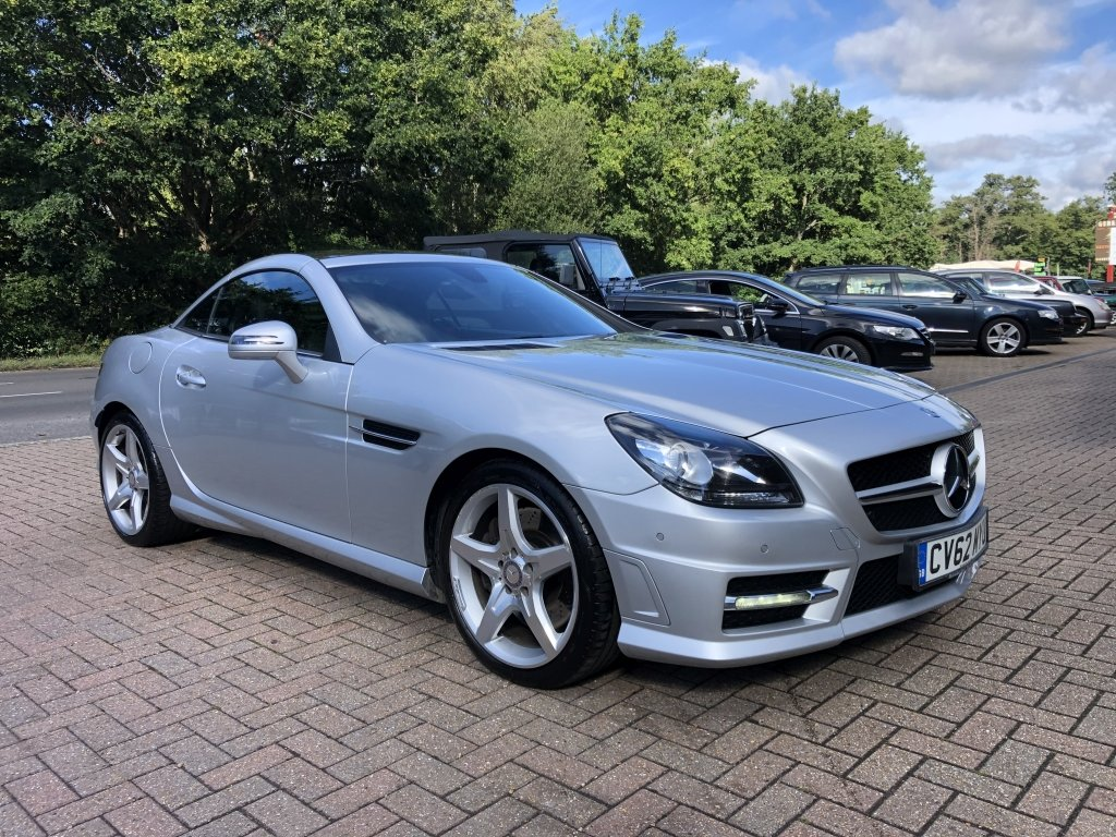 2012 (62) Mercedes Benz SLK250 CDi BlueEFFICIENCY AMG Sport For Sale (picture 4 of 6)