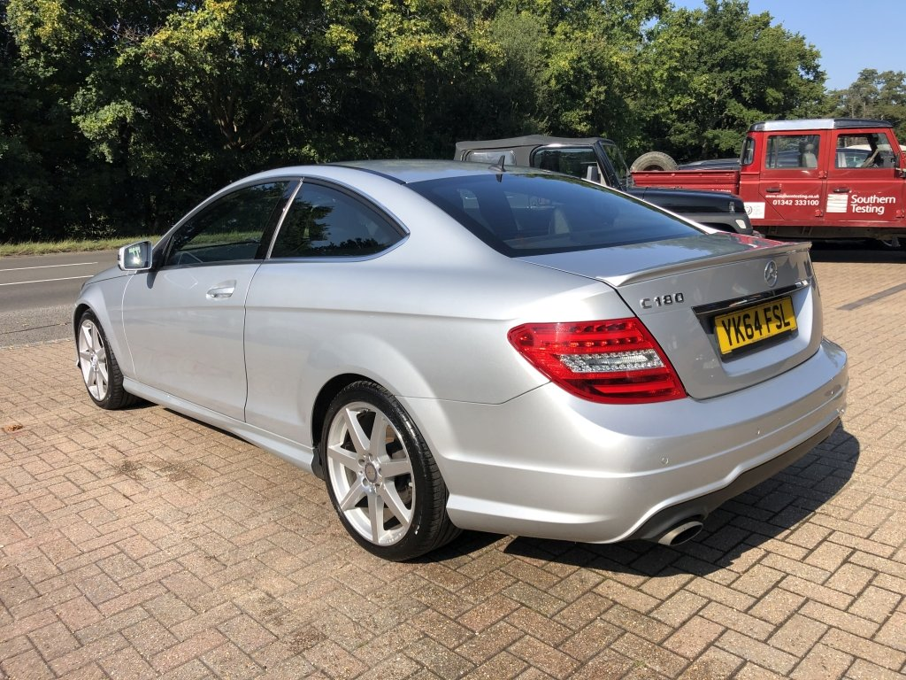 2014 (64) Mercedes Benz C180 (1.6) AMG Sport Premium Coupe For Sale (picture 4 of 6)