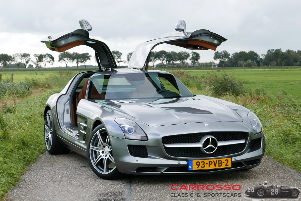2011 Mercedes Benz SLS AMG Original Dutch car with only 42.916 KM For Sale (picture 1 of 6)