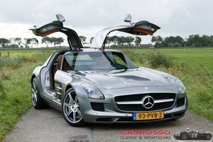 Mercedes Benz SLS AMG Original Dutch car with only 42.916 KM