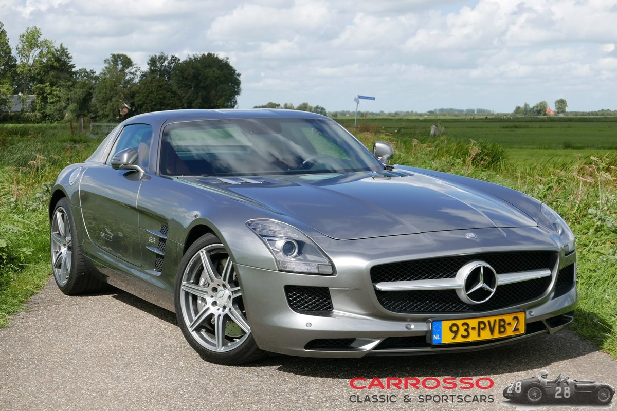 2011 Mercedes Benz SLS AMG Original Dutch car with only 42.916 KM For Sale (picture 2 of 6)