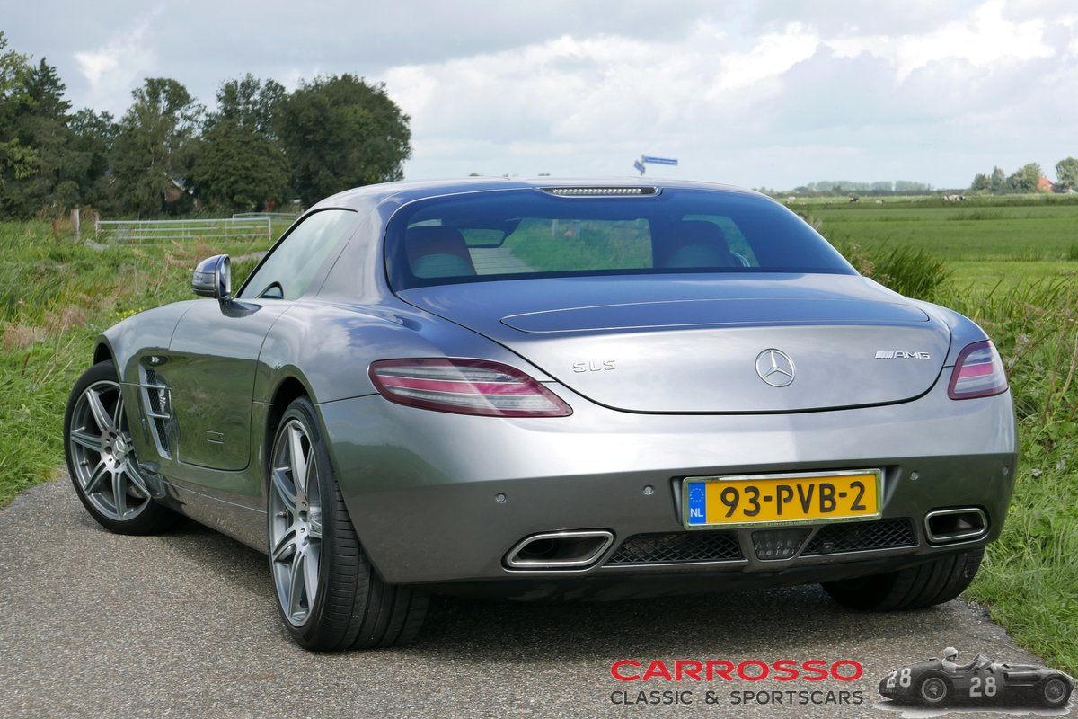 2011 Mercedes Benz SLS AMG Original Dutch car with only 42.916 KM For Sale (picture 3 of 6)