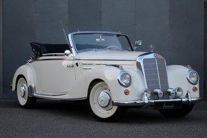 1954 Mercedes-Benz 220 Cabriolet A LHD