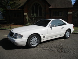 1996 MERCEDES SL 320  96   3 OWNERS   78,800 MILES ONLY