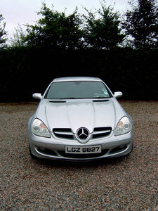 Low Mileage Automatic Mercedes SLK for sale