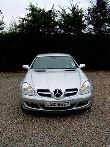 2006 Low Mileage Automatic Mercedes SLK for sale