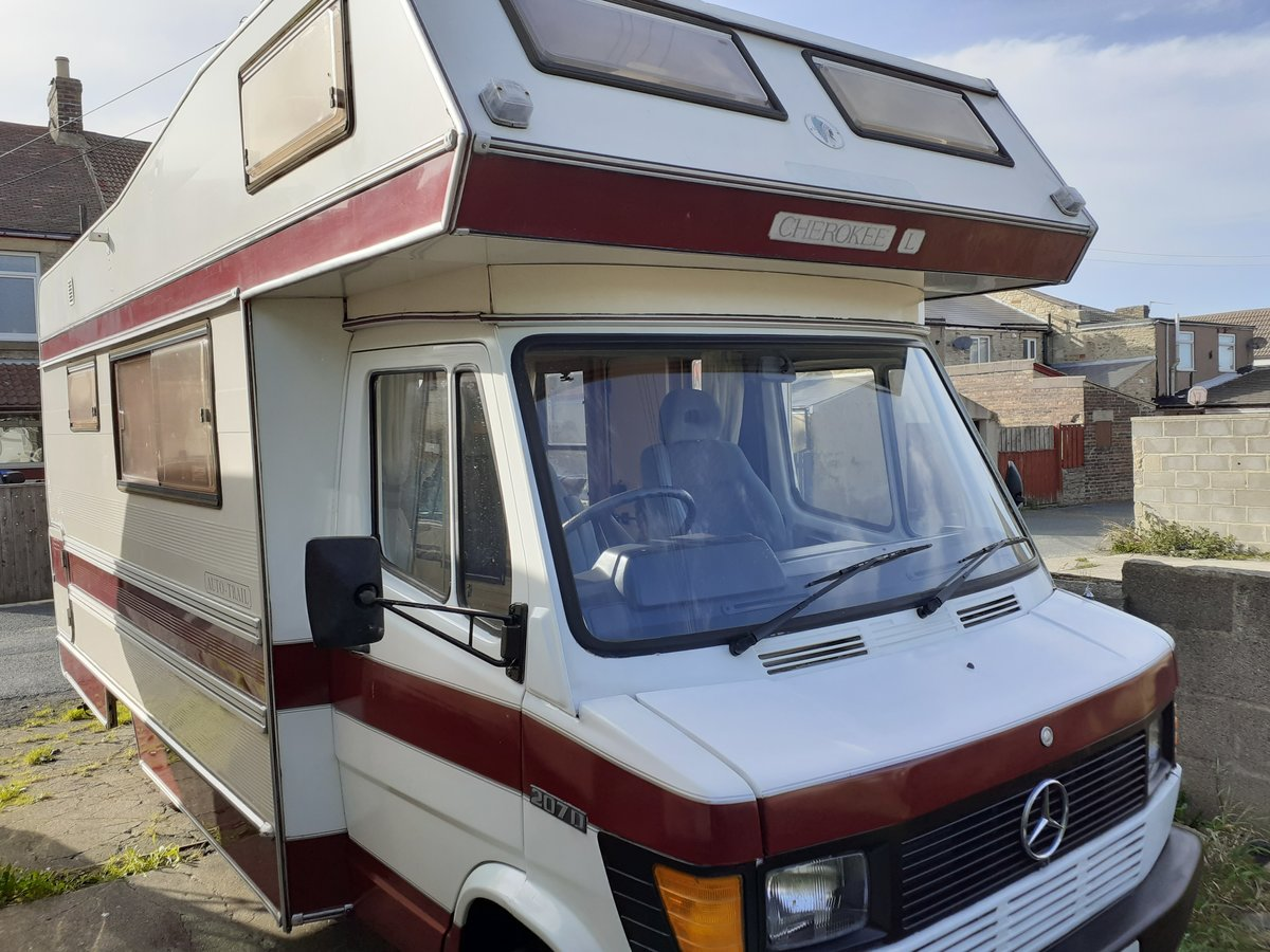 1989 Mercedes cherokee auto trail For Sale (picture 1 of 6)
