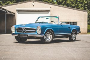 1967 Mercedes 250SL ZF5 – ONE OF ONLY 840 BUILT