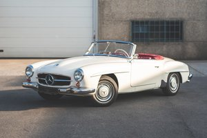 1962 190 sl - matching numbers