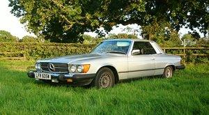 1981 Mercedes Benz SLC 380 LHD US spec SL Klasse