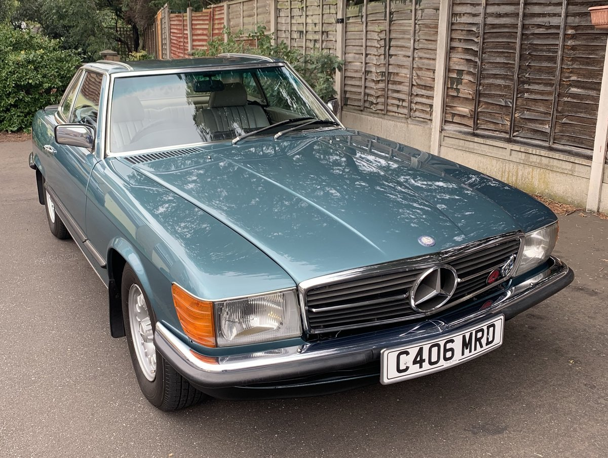 1985 Beautiful Mercedes Benz 500SL R107 V8 SOLD (picture 1 of 6)