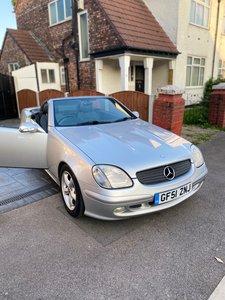 2001 Mercedes Benz SLK 320 v6