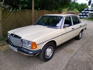 1982 mercedes 230e For Sale