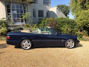 1993 E320 Sportline Cabriolet with Full AMG Body For Sale