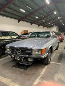 1977 Mercedes 350sl, convertible for auction 31ST OCT