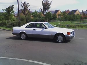 MERCEDES 500 SEC  1 OWNER FOR LAST 20 YEARS