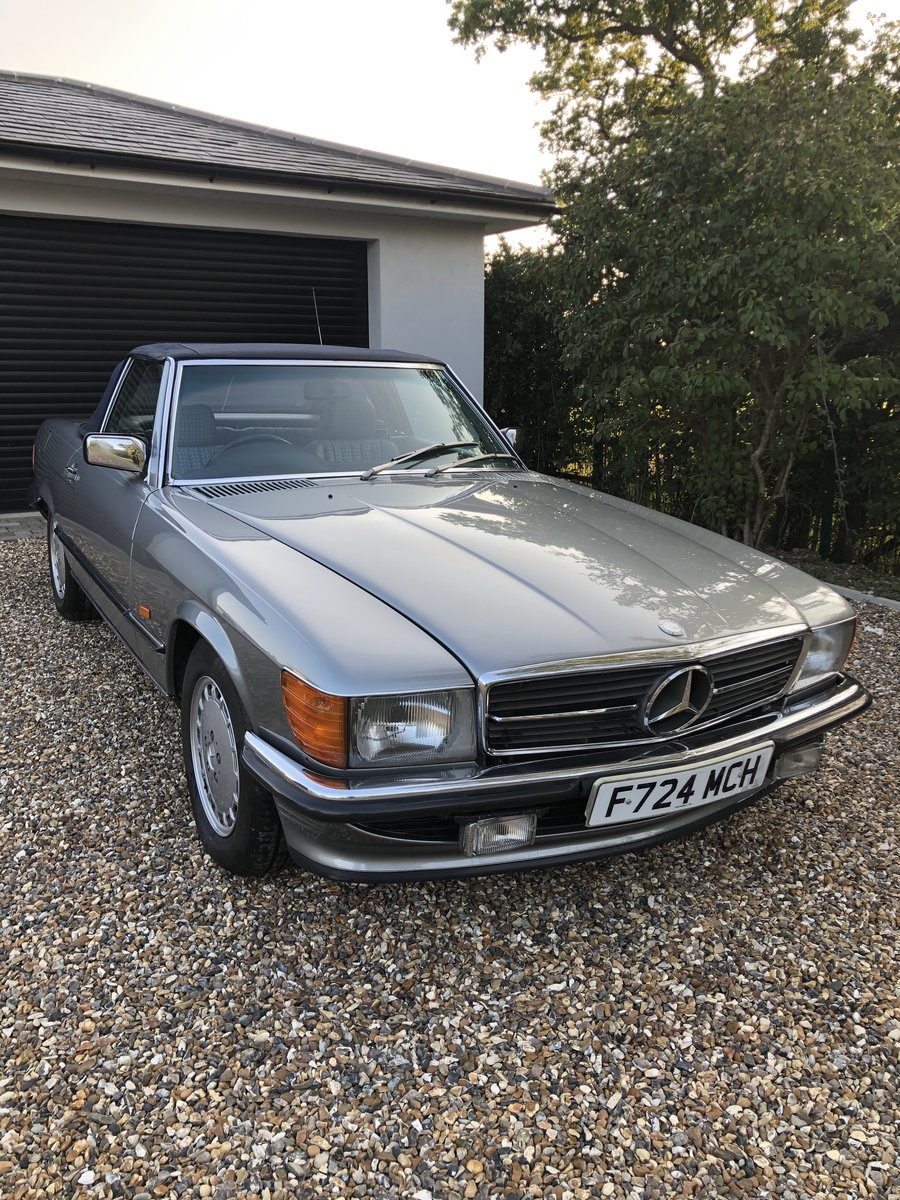 1989 Mercedes 300 SL For Sale (picture 2 of 6)