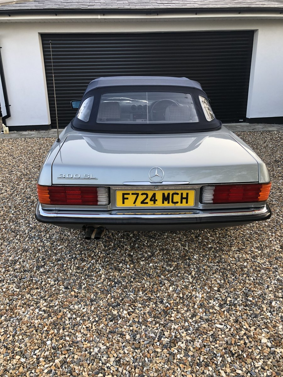 1989 Mercedes 300 SL For Sale (picture 4 of 6)