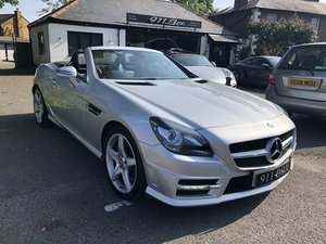 MERCEDES SLK200 AMG SPORT 1.8 TWIN TURBO PETROL AUTOMATIC
