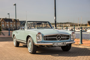 1970 Mercedes-Benz 280 SL Roadster in Horizon Blue by Hemmels For Sale