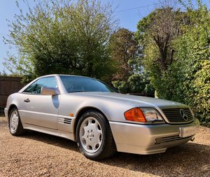 1992/J - Mercedes 500SL R129. Lady owner, 50k miles, FSH. Wa For Sale