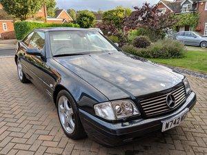 2000 Mercedes SL320 59Kmiles,  (W reg), FSH For Sale