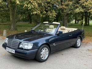 Mercedes E220 Sportline Convertible 1997 low miles 2 owners For Sale