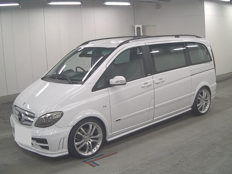 2004 MERCEDES-BENZ VIANO 3.2 AMBIENTE BRABUS STYLE BODYKIT & ALLO For Sale (picture 1 of 6)