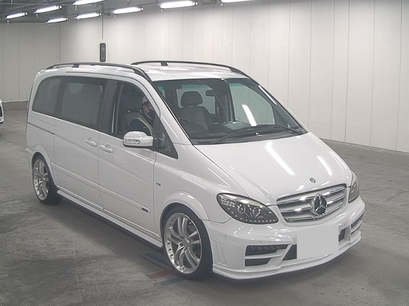 2004 MERCEDES-BENZ VIANO 3.2 AMBIENTE BRABUS STYLE BODYKIT & ALLO For Sale (picture 2 of 6)