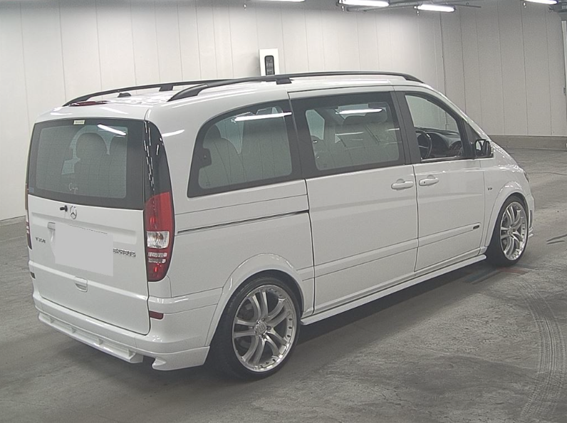 2004 MERCEDES-BENZ VIANO 3.2 AMBIENTE BRABUS STYLE BODYKIT & ALLO For Sale (picture 4 of 6)