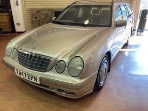 Picture of 1999 rare low mileage very clean petrol mercedes pre auction sale