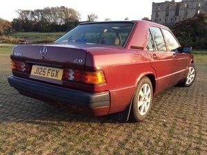 1991 Mercedes 190E automatic 60000 miles For Sale