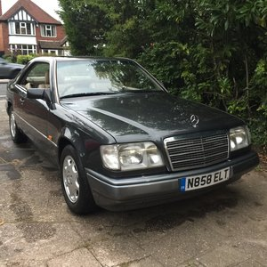 1995 Facelift  E220 Pillarless Coupe  C124 Low mileage