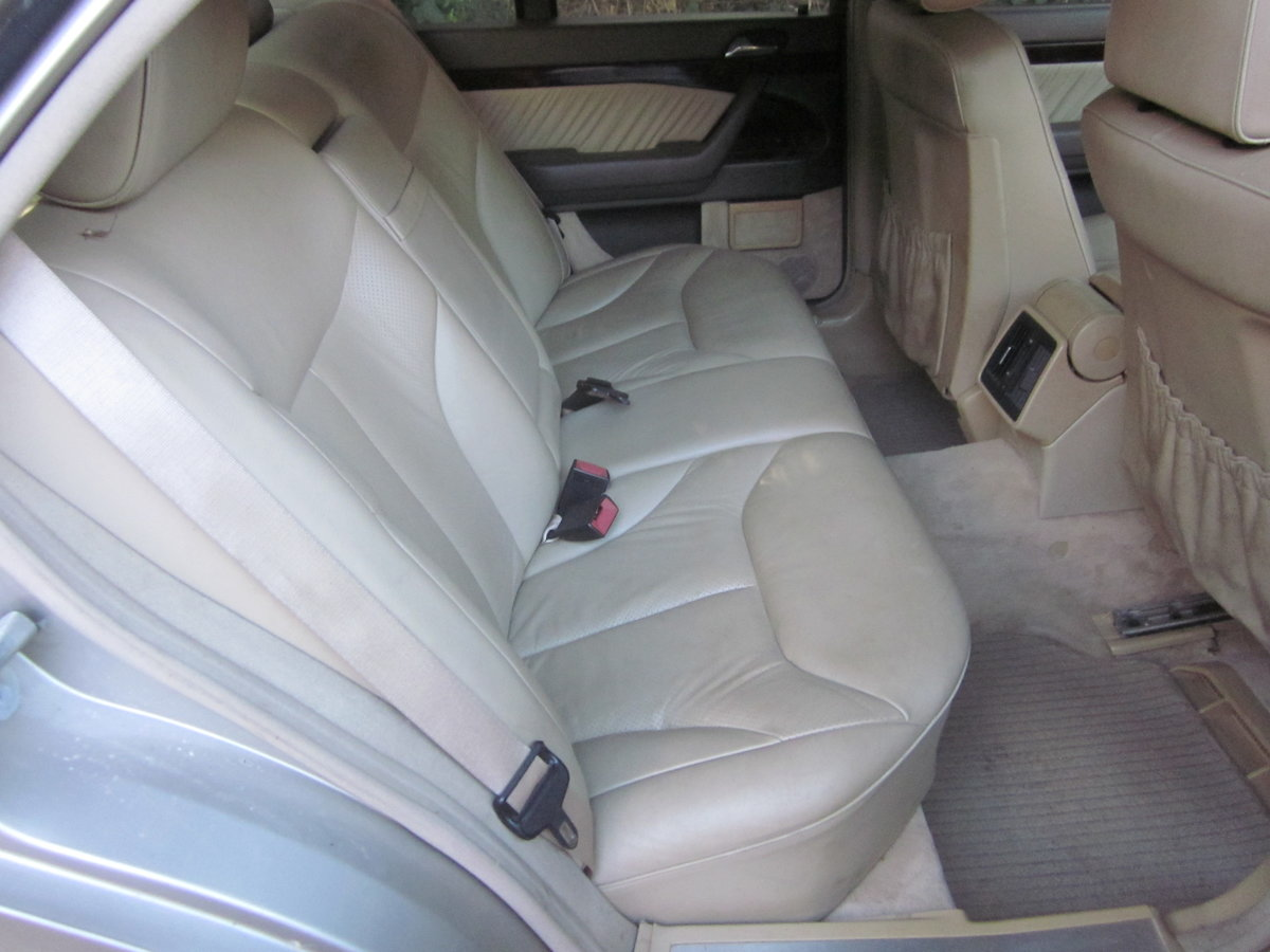 1995 Mercedes S 320 petrol colour champagne For Sale (picture 6 of 6)