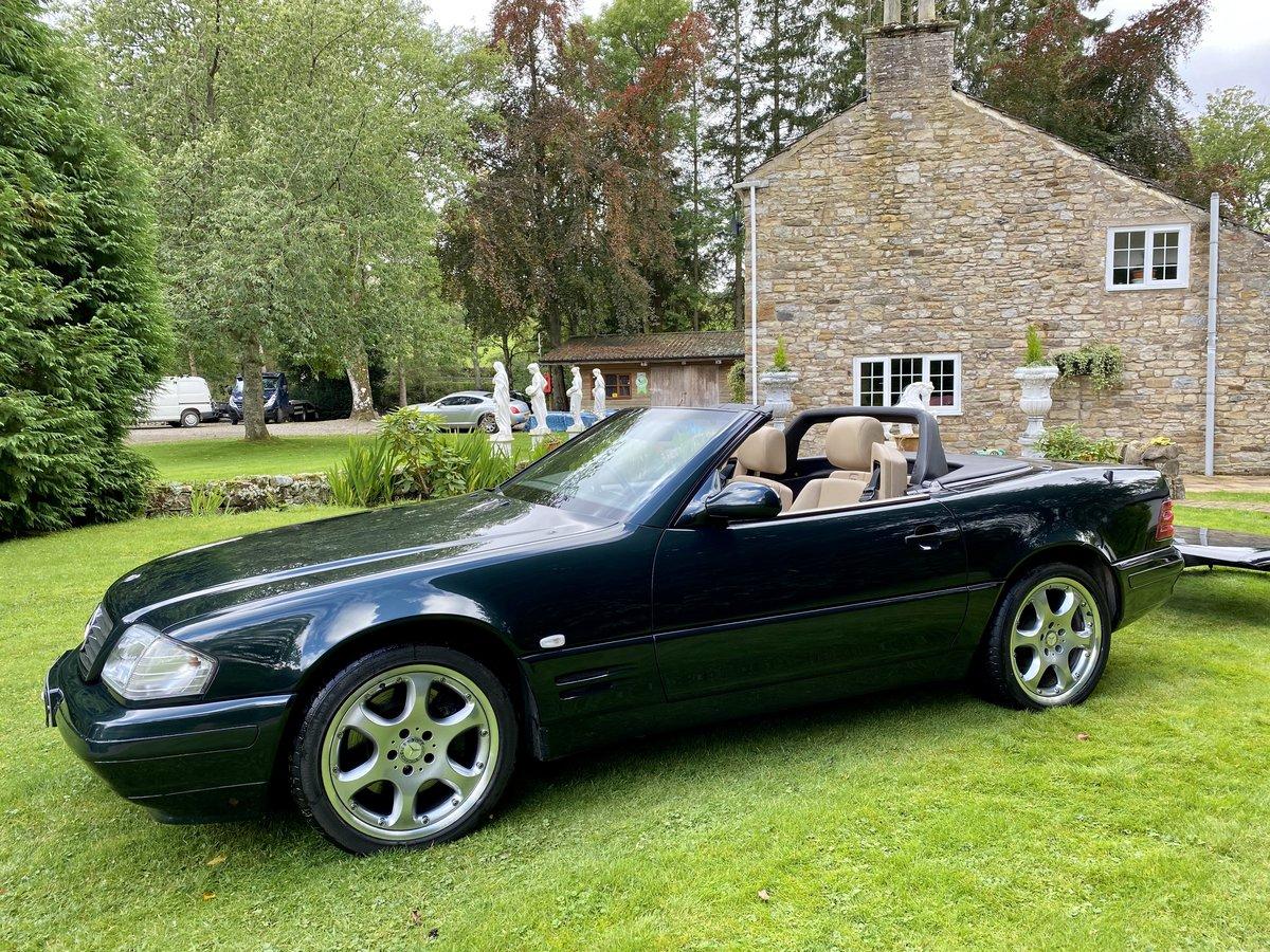 2001 Stunning Designo Alanite Edition Mercedes-Benz SL280 R129 SL For Sale (picture 1 of 6)